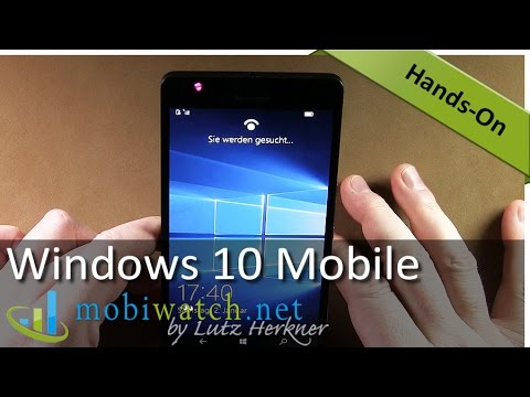 Windows 10 Mobile: New Features, UI & Apps – Hands-on Video