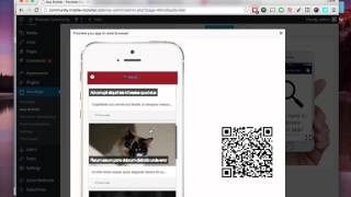 WordApp - Getting started | Convert Wordpress to mobile app