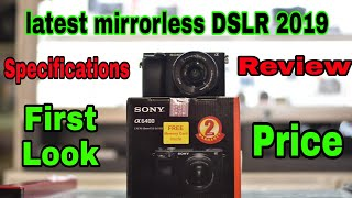 Sony Alpha A6400 Specifications Review Price.