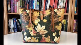 Dooney & Bourke - Maple Leaf Dover Tote (Fall Inspired MemoryDex)