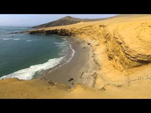 Paracas National Reserve, Reserva nacional de Paracas-Peru- video 1, Best of Peru