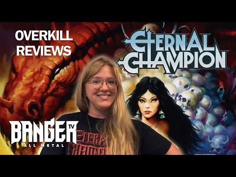 ETERNAL CHAMPION Ravening Iron Album Review | Overkill Reviews