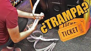 Como ganar muchos tickets en las maquinitas | ¿Sin hacer trampa?
