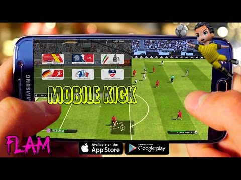 Mobile Kick Gameplay Android/iOS | Man united vs Liverpool