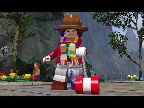 LEGO Dimensions - Secret TARDIS Interior Fourth Doctor & Free Roam (Character Showcase)
