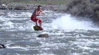 ექსტრიმი მთის მდინარეში