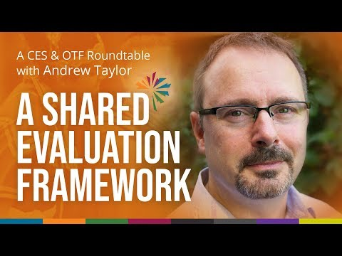 Andrew Taylor on How a Shared Evaluation Framework Can Be Simple