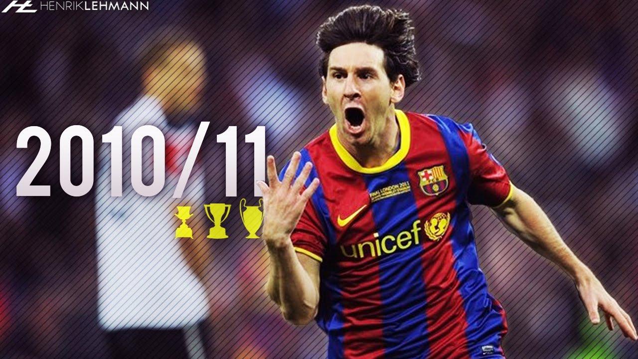 Download Lionel Messi ● 2010/11 ● Goals, Skills & Assists