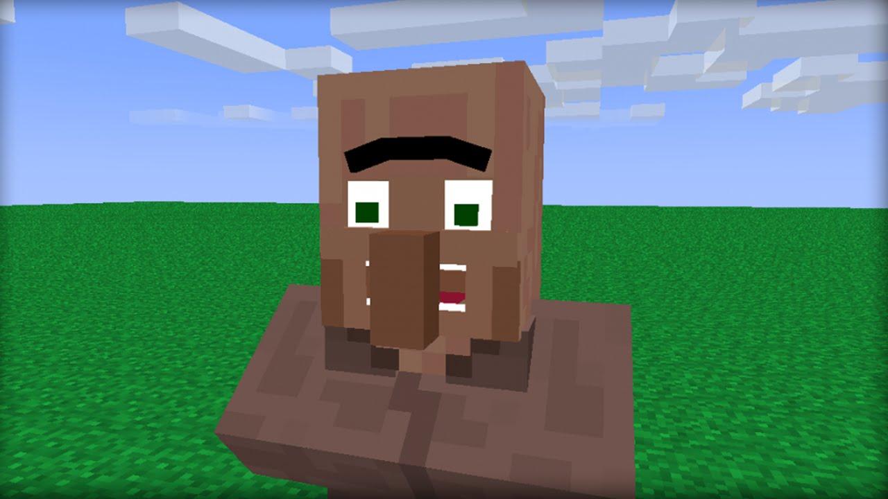Minecraft: 10 Ways to Kill a Villager - YouTube