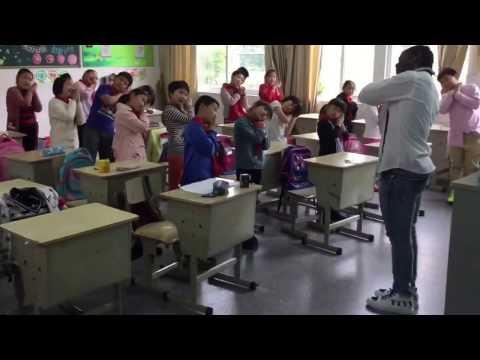 ESL-CHINA: warm up + songs