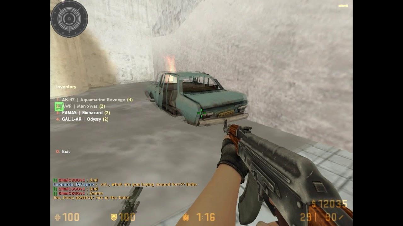 Counter Strike 1 6 CSGO by PyPKjE client