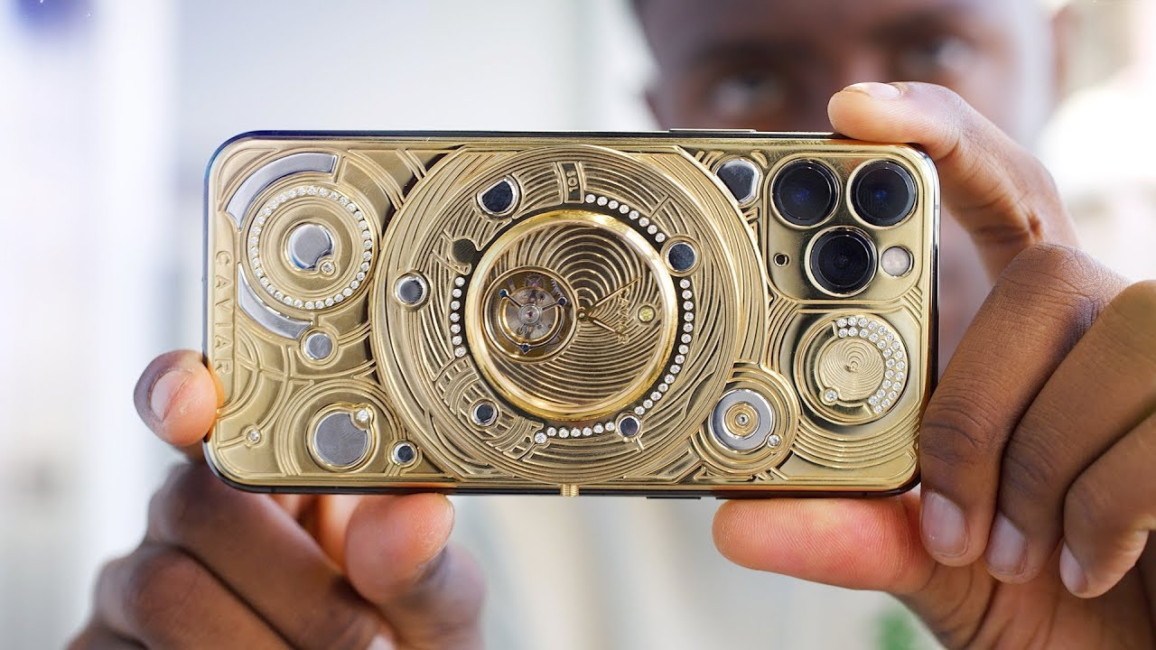 The $100,000 Gold iPhone!