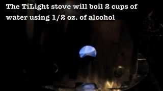 The TiLight Alcohol Stove by FLAT CAT GEAR Thumbnail