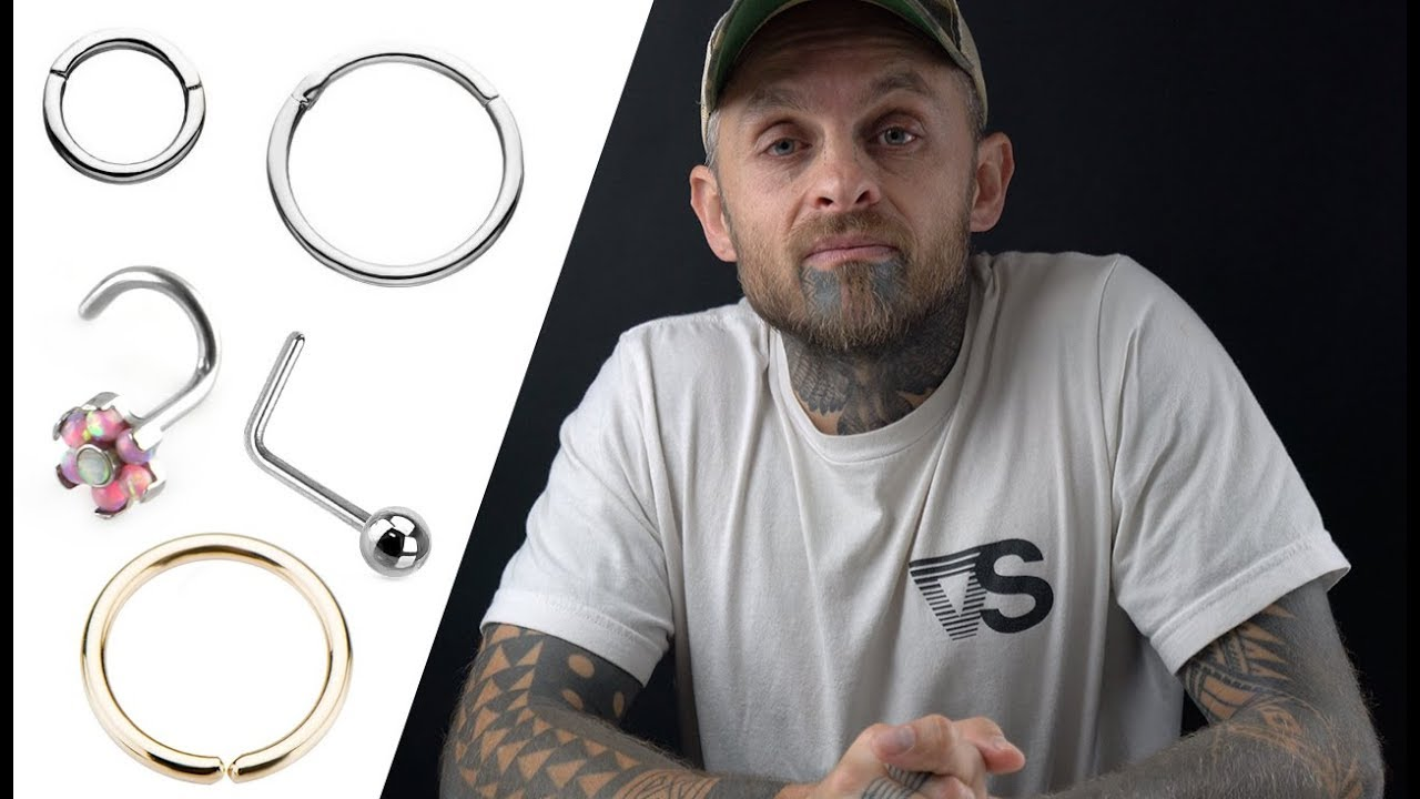 What Size Nose Ring Do I Need Urbanbodyjewelry Com Youtube