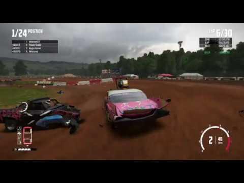 WRECKFEST Figure 8 Bloomfield Speedway COMPLETE CHAOS!!