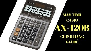 Máy tính casio Ax 120b | Casio AX 12B | Máy tính casio