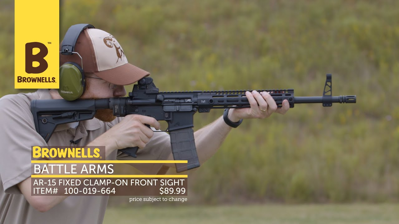 New Products Week In Review Battle Arms Development Inc Ar 15 Fixed Clamp On Front Sight