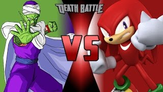 Piccolo VS Knuckles | EPIC COMBAT | (Charly Vielman)