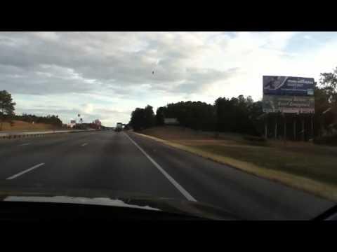 Driving to Georgia-Florida Border
