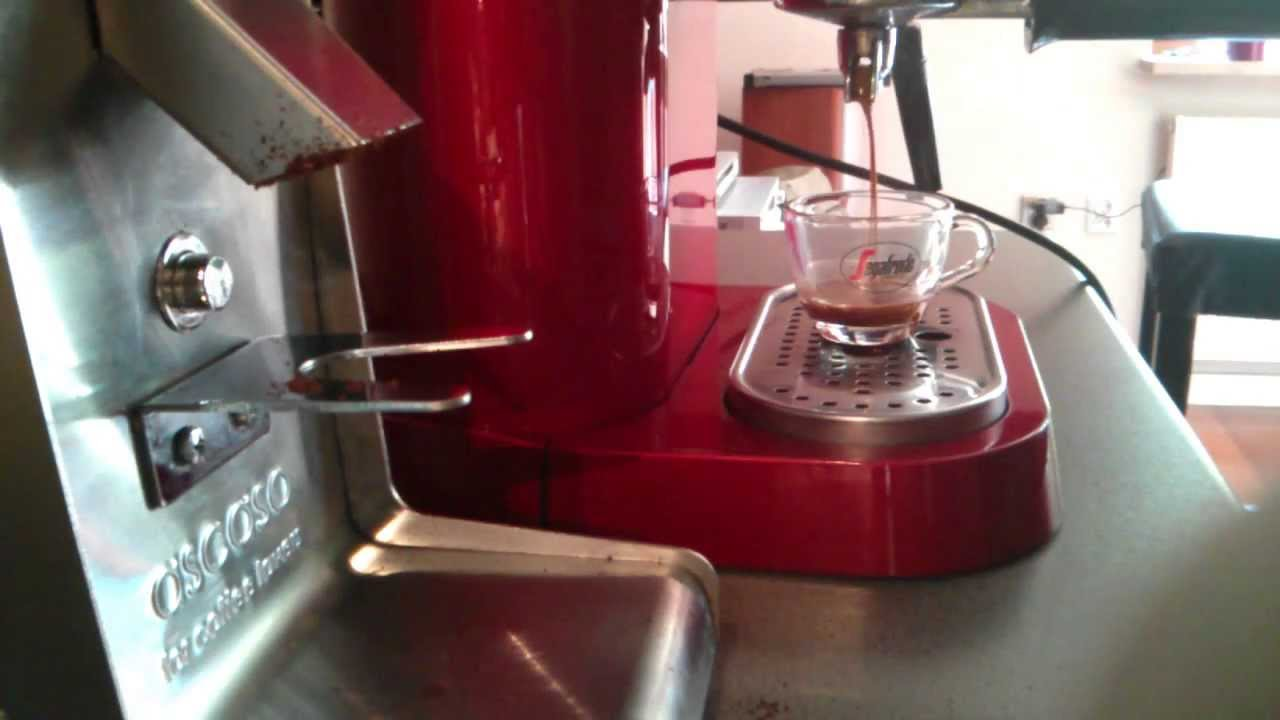 espresso gaggia baby dose ascaso i 1 steel youtube. Black Bedroom Furniture Sets. Home Design Ideas