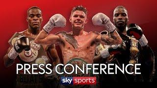 LIVE PRESS CONFERENCE! Edwards vs Moreno, Okolie vs Camacho & Buatsi vs Conroy