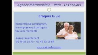 Agence-matrimoniale Paris, video pour les seniors