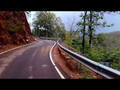 Hajo Hill Top Cycling Descent, Assam Poa Mecca