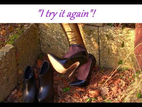 Cora Try It Again Amsterdam Original - Walking Part 2 - Extrem High Heels Second Walk