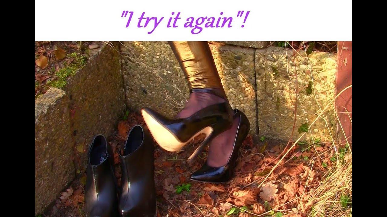 d10ef5fb616e Cora Try it again Amsterdam Original - walking part 2 - extrem high heels  second walk