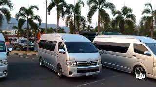 Hmoob car for rent in Thailand.