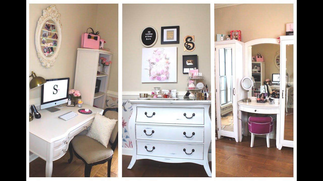 coiffeuse bureau. Black Bedroom Furniture Sets. Home Design Ideas