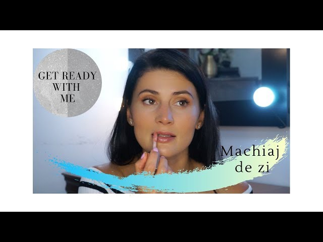 Get ready with me | Machiajul de dimineata