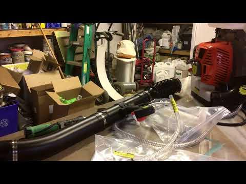 Invatech Italia model 868 Mister Duster Blower assembly