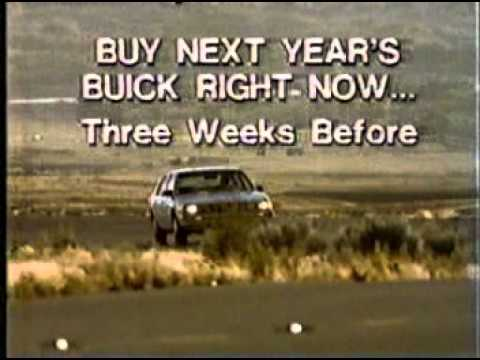 1983 Buick Southern California Dealers commercial