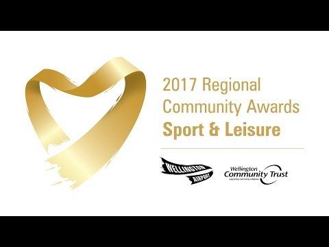 2017 Wellington Airport Community Awards - Sport & Leisure regional finalists