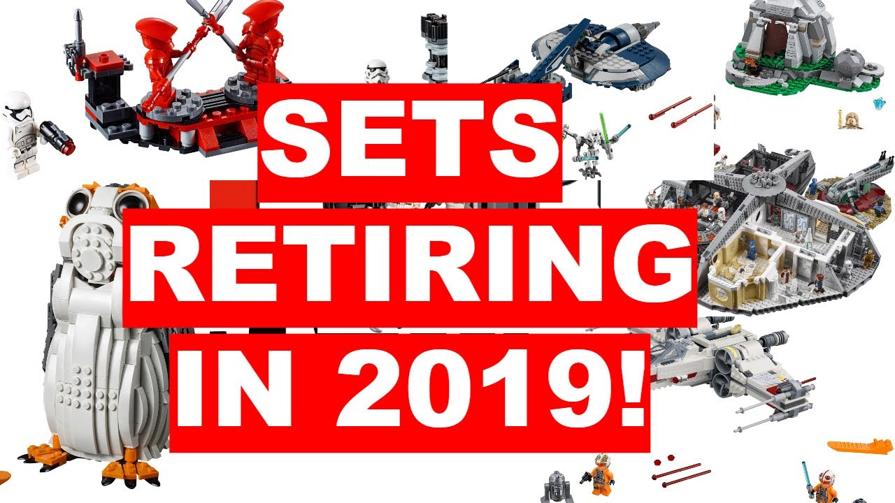 ALL Lego Star Wars Sets Retiring In 2019!