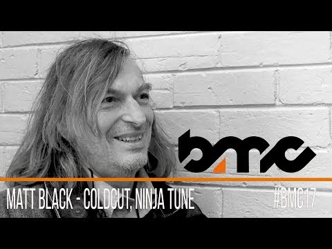 Matt Black interview, Coldcut & Ninja Tune - #BMC2017