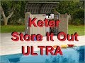 Keter Store It Out ULTRA Outdoor Garden Storage Shed