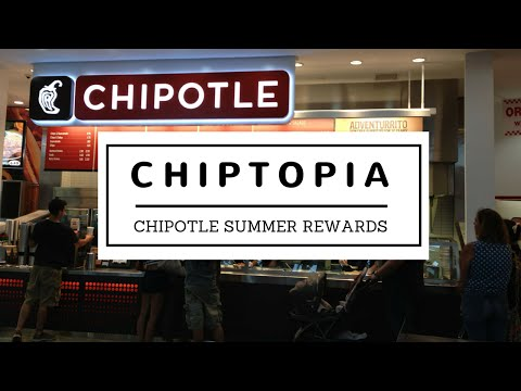 Chiptopia Explained - Chipotle Summer Rewards Program