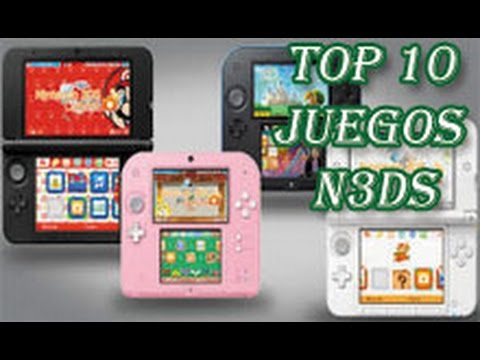 Top 10 Juegos Exclusivos Nintendo 3ds 2ds 2018 Youtube