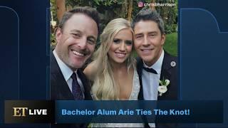 Chris Harrison Officiates 'Bachelor' Arie Luyendyk Jr. and Lauren Burnham's Wedding