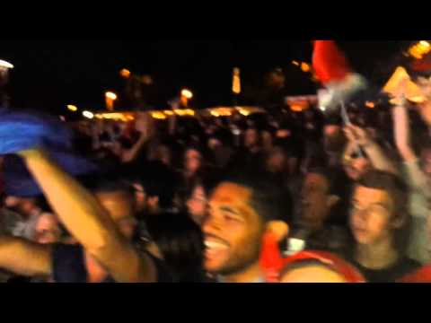 France vs. Switzerland in Lausanne - World Cup 2014