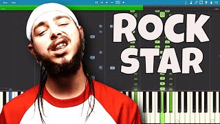 Post Malone ft. 21 Savage - rockstar - Piano Cover / Tutorial