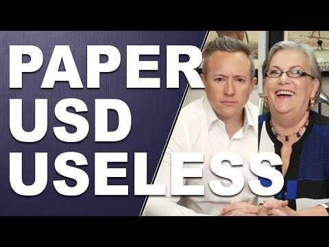 PAPER USD USELESS: Fiat $ystem Being Replaced? Q&A with Lynette Zang and Eric Griffin