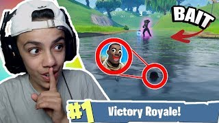 *FUNNIEST* UNDERWATER TROLL BAIT in Fortnite: Battle Royale!