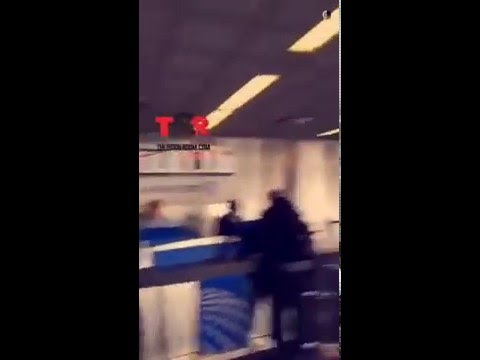 Oop!! Watch Wale Go Off On United Airline Employees After He Missed His Flight!!