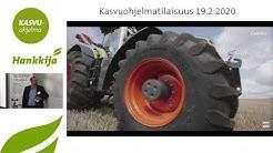 Konekauppa Suomessa ja Claas Hankkijalla