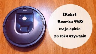 IRobot Roomba 980 - moja opinia po roku używania