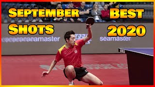 Best table tennis shots of September 2020