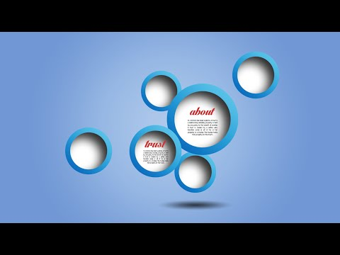 Photoshop Tutorial | Graphic Design Blue Circle